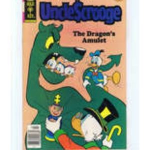 Uncle Scrooge #166 1979 Comic Book Walt Disney